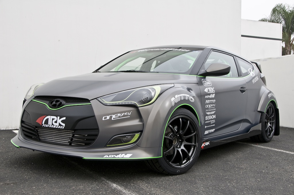 ARK Performance Hyundai Veloster turbo unveiled ahead of