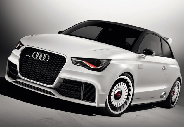 Audi RS1 confirmed with a prototype spotted - PerformanceDrive