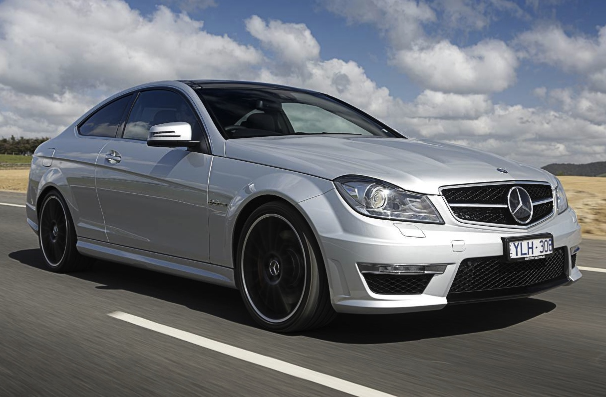 Mercedes benz c 63 amg coupe for 63 mercedes benz