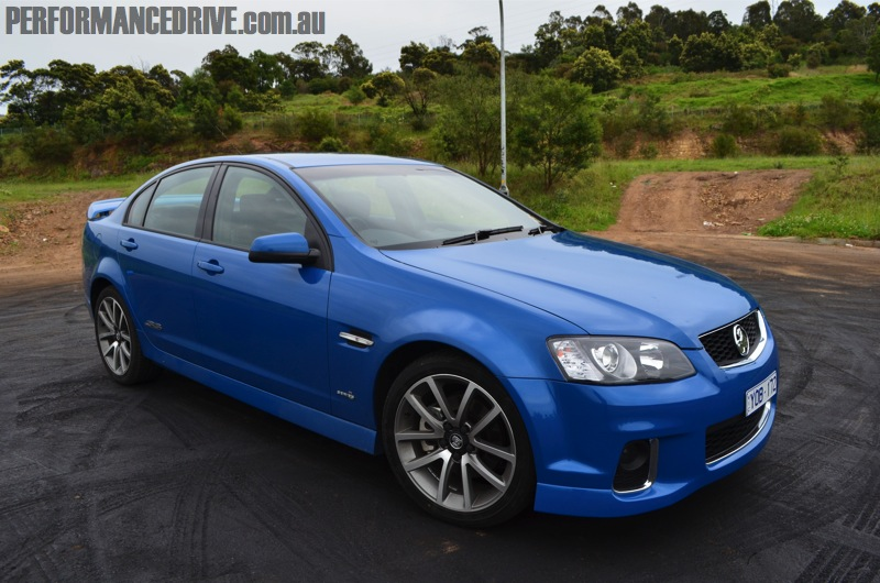 2012 Holden Commodore VE SS V Perfect Blue