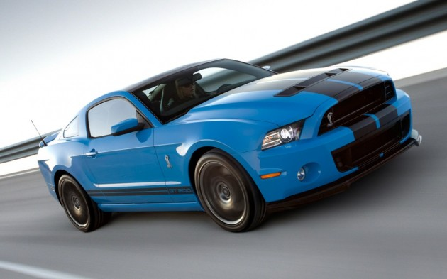 2013 Ford Mustang unveiled, GT500 gets 650hp (485kW)
