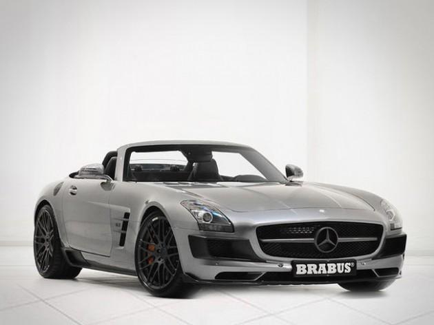 BRABUS SLS 700 Biturbo Roadster revealed