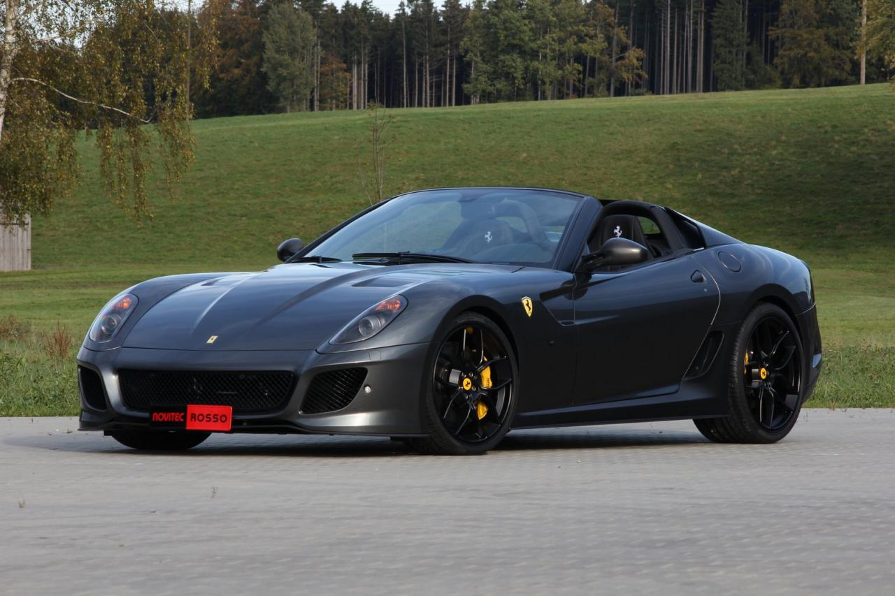 novitec rosso ferrari 599 sa aperta twin supercharged with. Black Bedroom Furniture Sets. Home Design Ideas