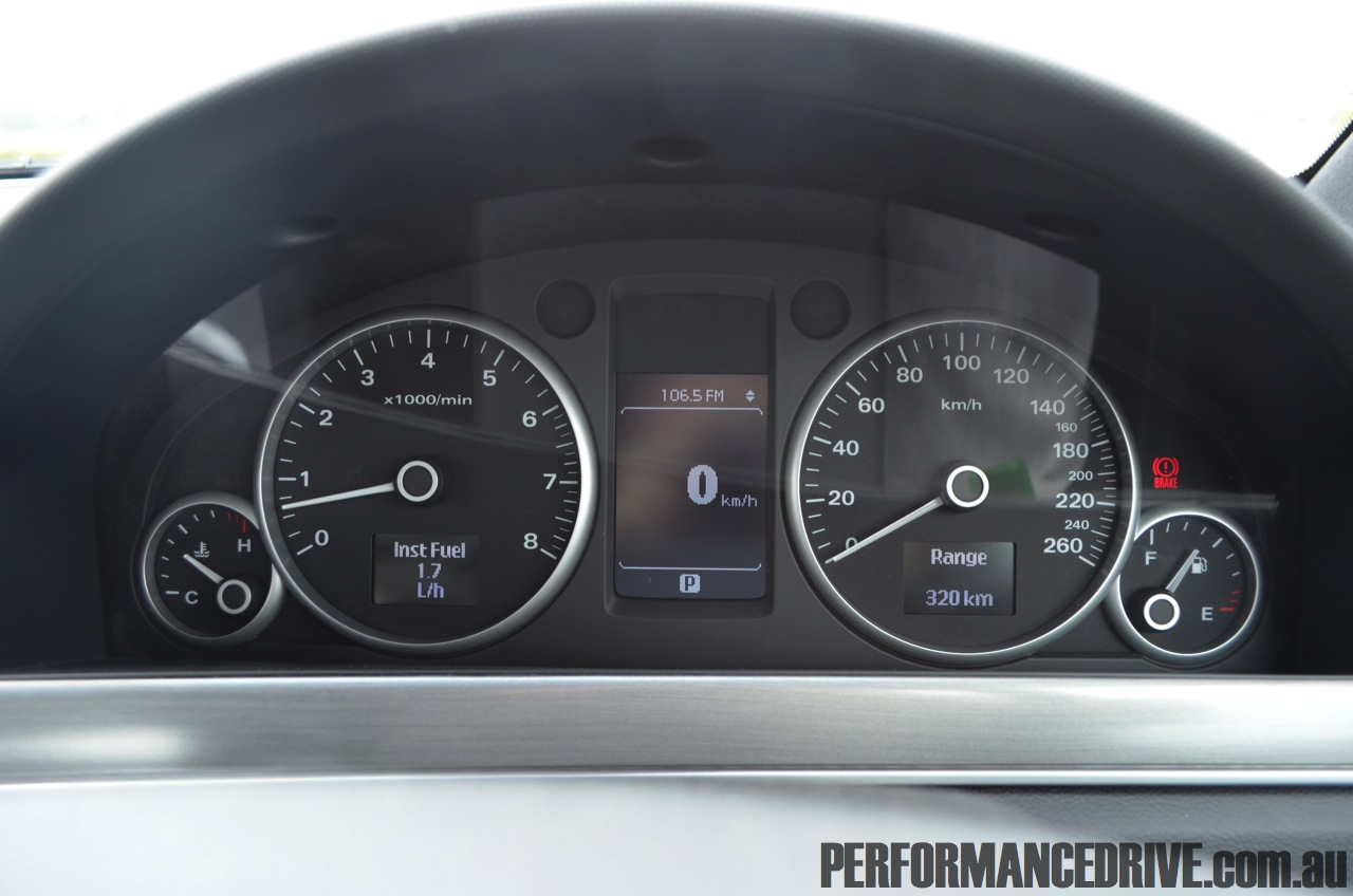 Holden Calais V Ve Series Ii V6 Dash
