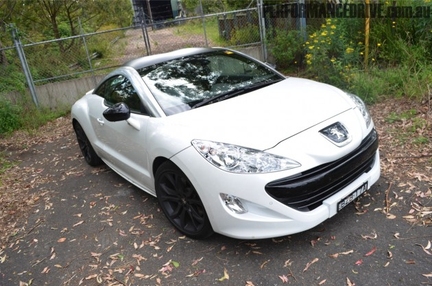 2011 peugeot rcz review performancedrive. Black Bedroom Furniture Sets. Home Design Ideas