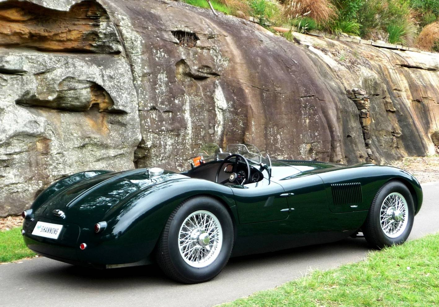 Jaguar jaguar c : Jaguar C-Type |
