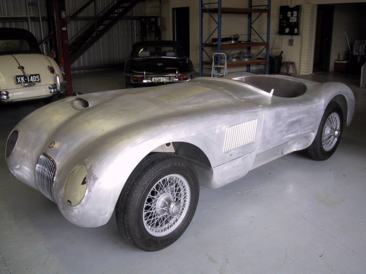 for sale  jaguar c-type le mans replica