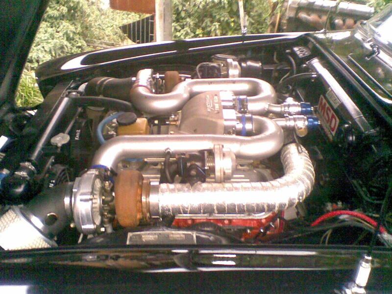 Twin Turbo Jaguar