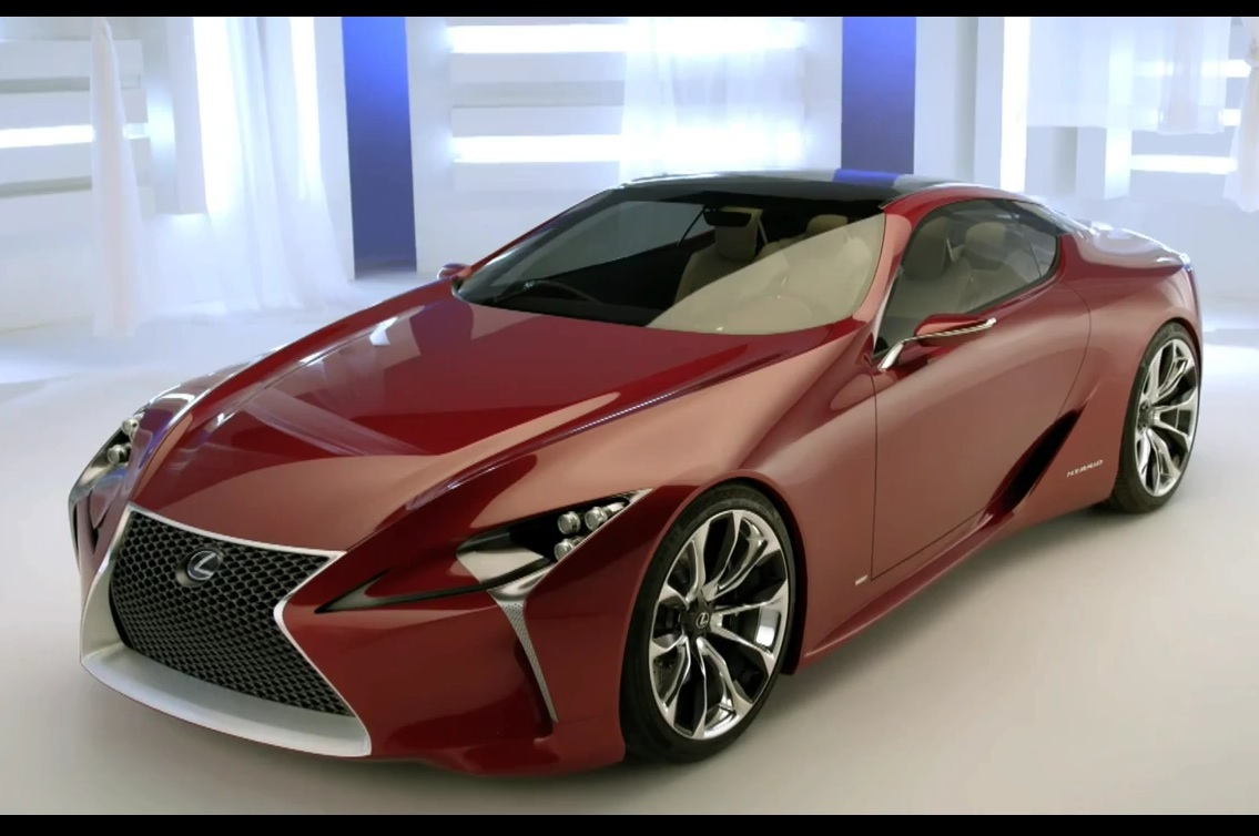 lexus lf lc concept. Black Bedroom Furniture Sets. Home Design Ideas