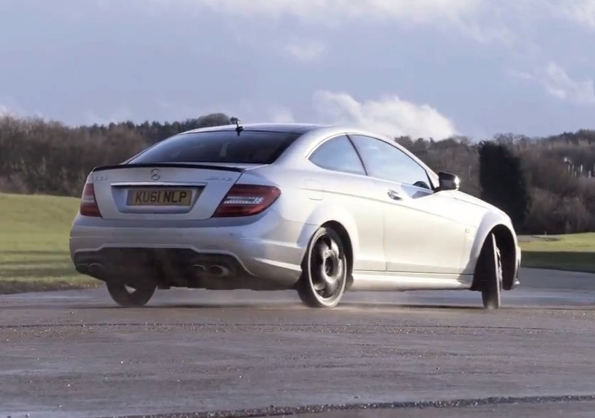Mercedes benz c 63 amg coupe space saver tyres for Mercedes benz tyres