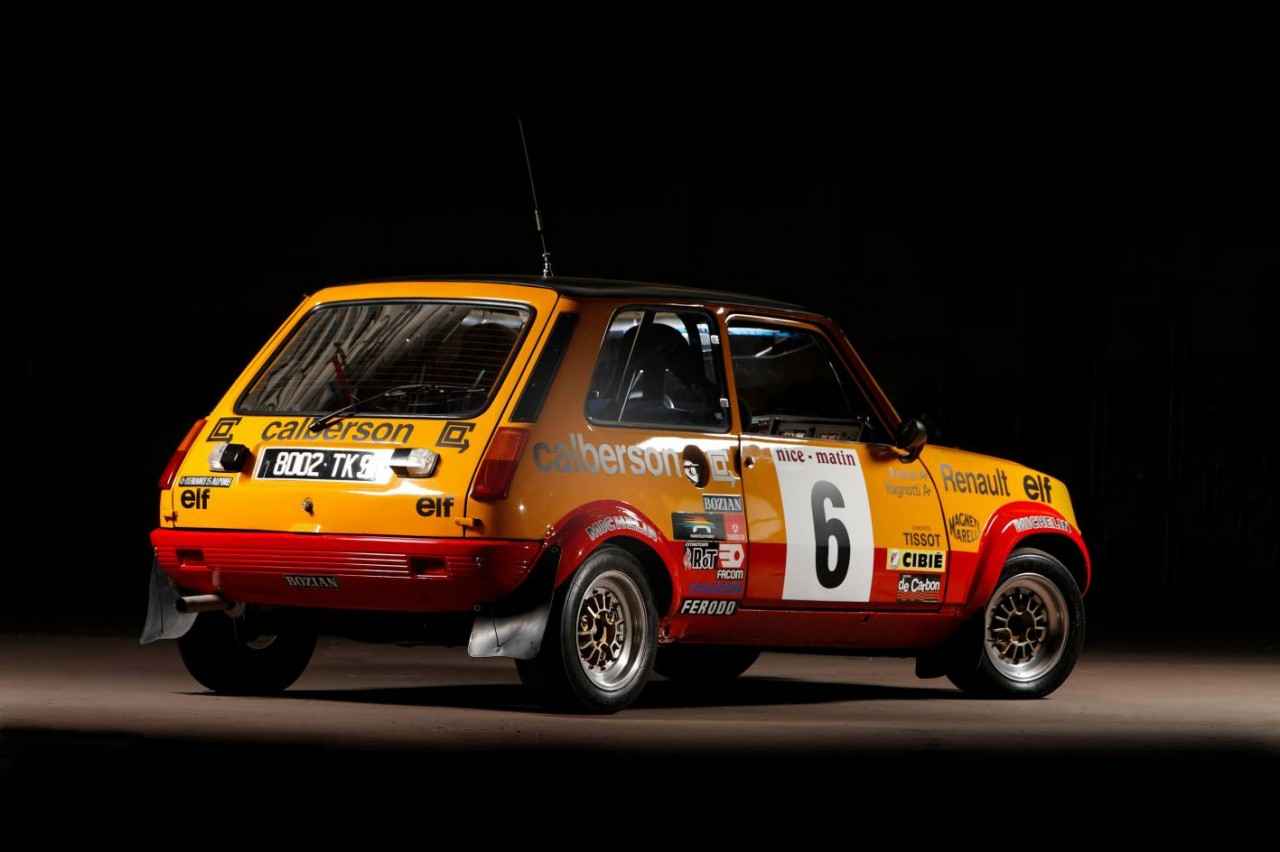 renault 5 alpine rally cars restored to run in 2012 rallye monte carlo historique performancedrive. Black Bedroom Furniture Sets. Home Design Ideas