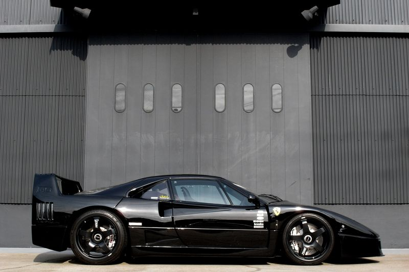 For Sale 1991 Ferrari F40 Stunning Black On Black