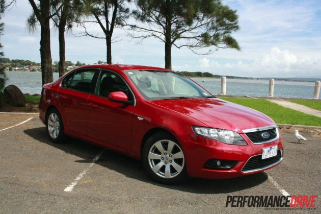 2012 Ford Falcon G6 EcoLPi economy test: Brisbane to Wo...