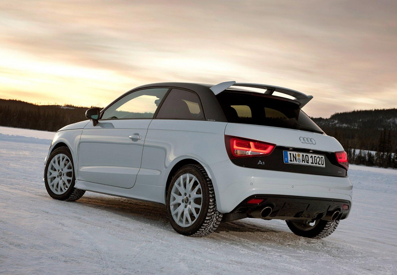 audi a1 quattro 19 units announced for uk performancedrive. Black Bedroom Furniture Sets. Home Design Ideas