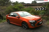 2012 FPV F6 MkII front side