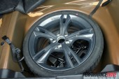 2012 FPV F6 MkII spare tyre
