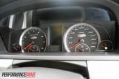 2012 FPV F6 MkII speedo