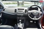 2012 Mitsubishi Lancer VRX Sportback dash