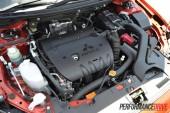 2012 Mitsubishi Lancer VRX Sportback engine
