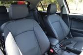 2012 Mitsubishi Lancer VRX Sportback front seats