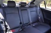 2012 Mitsubishi Lancer VRX Sportback rear seat