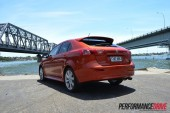 2012 Mitsubishi Lancer VRX Sportback rear side