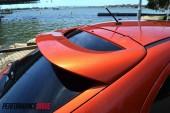 2012 Mitsubishi Lancer VRX Sportback spoiler