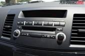 2012 Mitsubishi Lancer VRX Sportback stereo