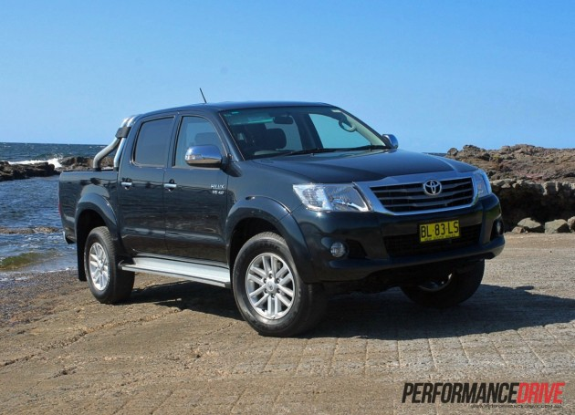 2012 toyota hilux sr5 review performancedrive 2012 fandeluxe Images