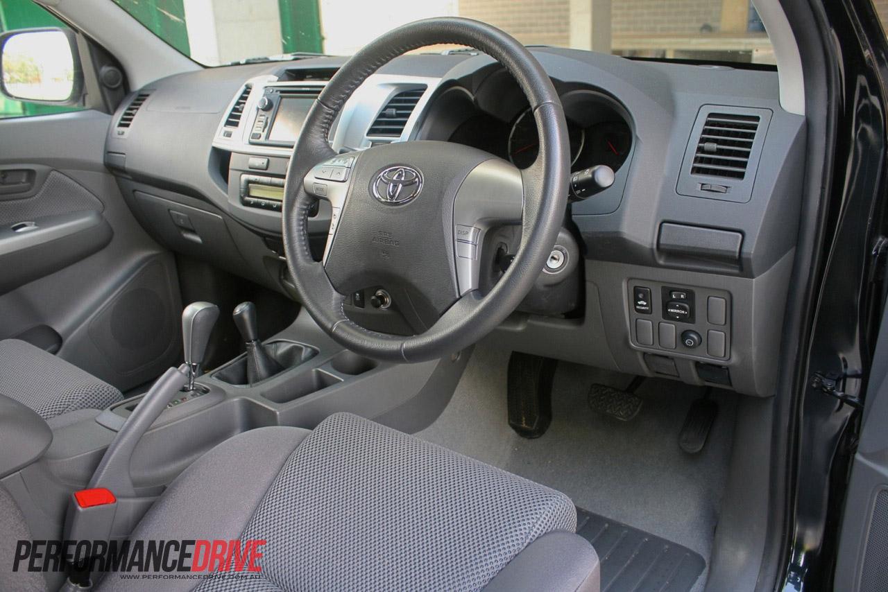 Toyota Hilux 2014 Interior Sw4 Flex Automtica Fotos Preo Vigo Champ 2011 Trd Free
