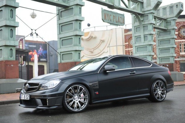 2012 BRABUS Bullit Mercedes-Benz C-Class Coupe with 800hp