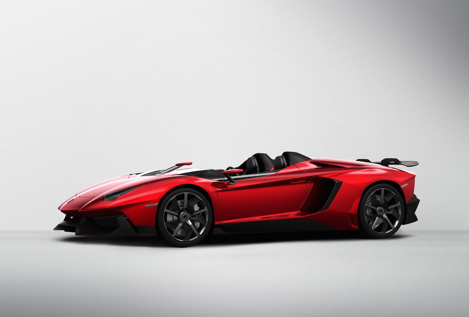 Lamborghini Aventador J concept unveiled - PerformanceDrive