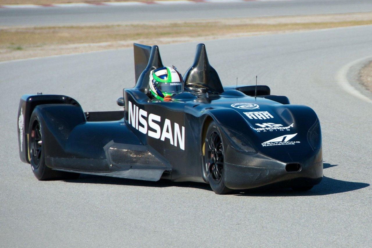 nissan deltawing to run in 2012 le mans 24 hours race performancedrive. Black Bedroom Furniture Sets. Home Design Ideas