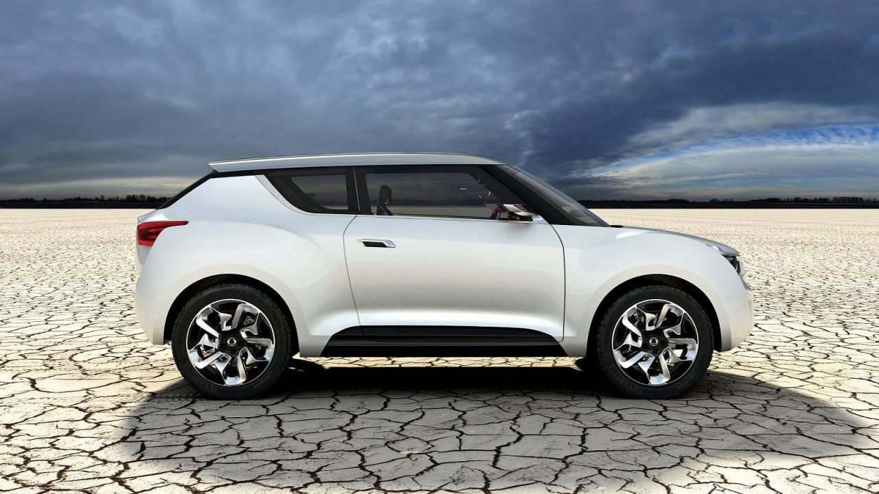 ssangyong xiv 2 convertible crossover concept revealed performancedrive. Black Bedroom Furniture Sets. Home Design Ideas