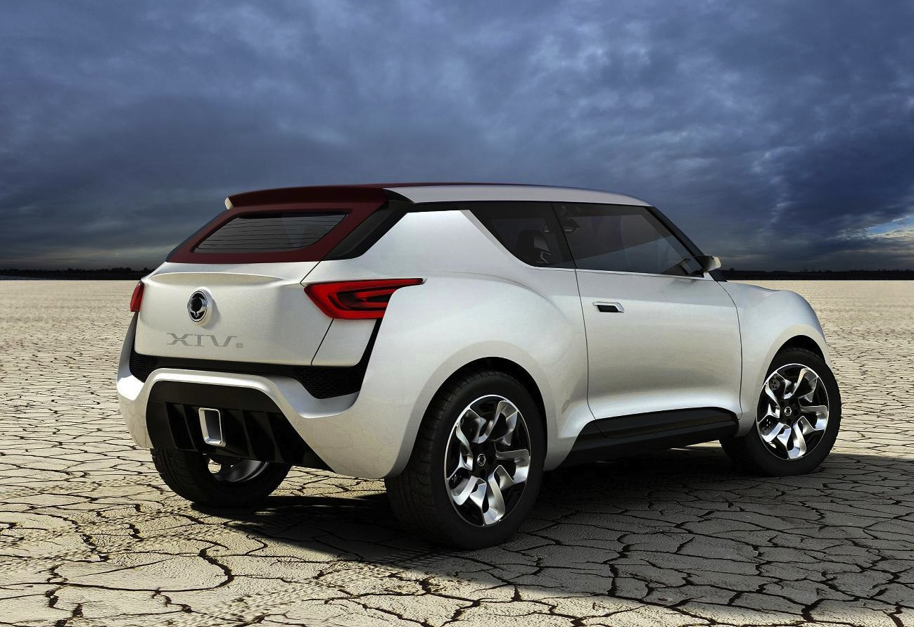 ssangyong xiv  convertible crossover concept revealed performancedrive