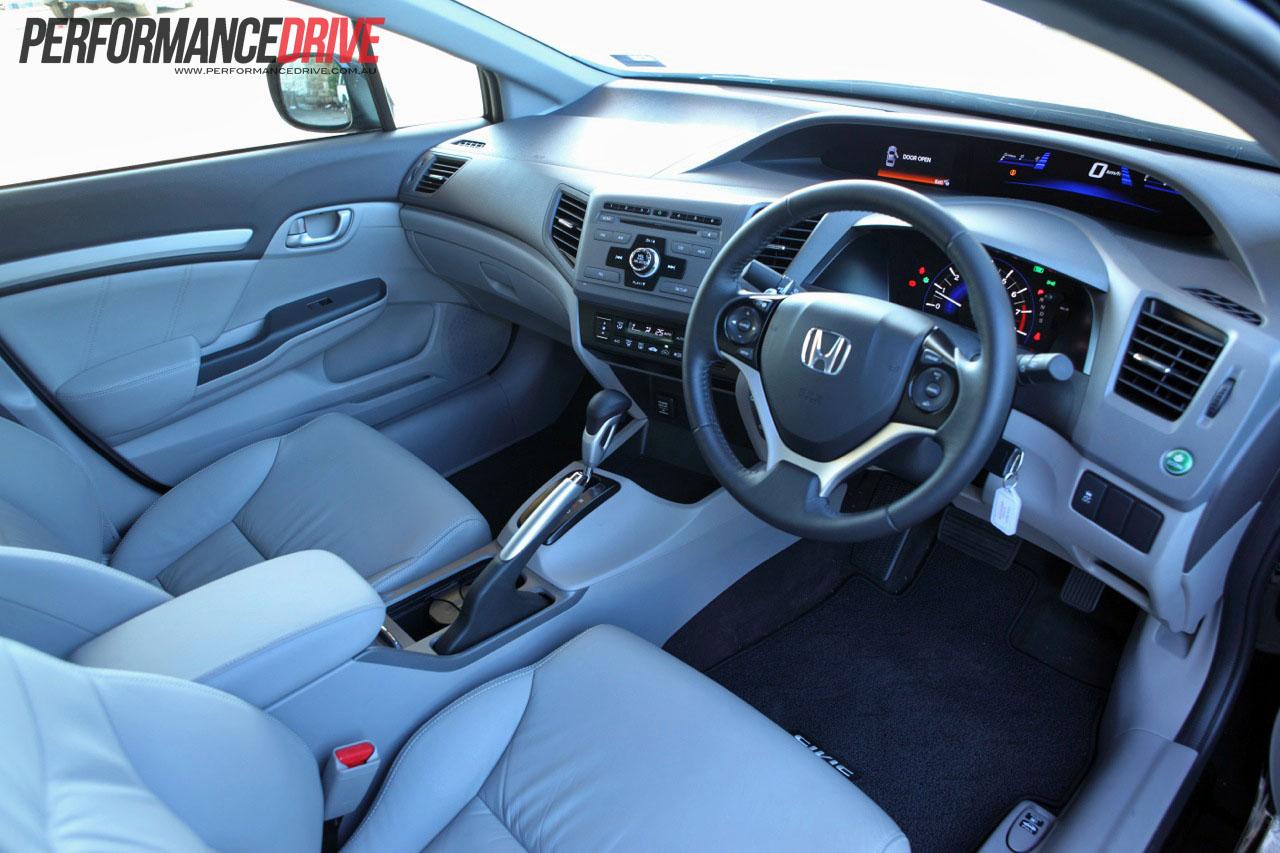2012 Honda Civic Sport interior
