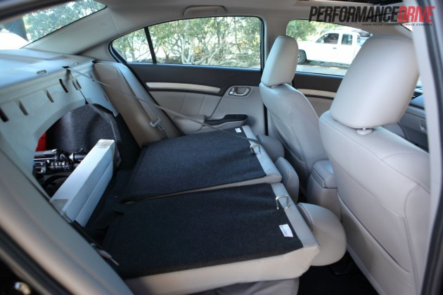 2012 honda civic sport rear seat fold. Black Bedroom Furniture Sets. Home Design Ideas
