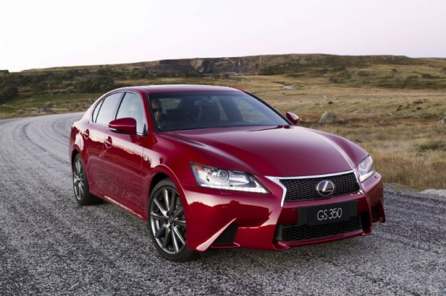2012 lexus gs 250 and lexus gs 350 now on sale in australia performancedrive. Black Bedroom Furniture Sets. Home Design Ideas