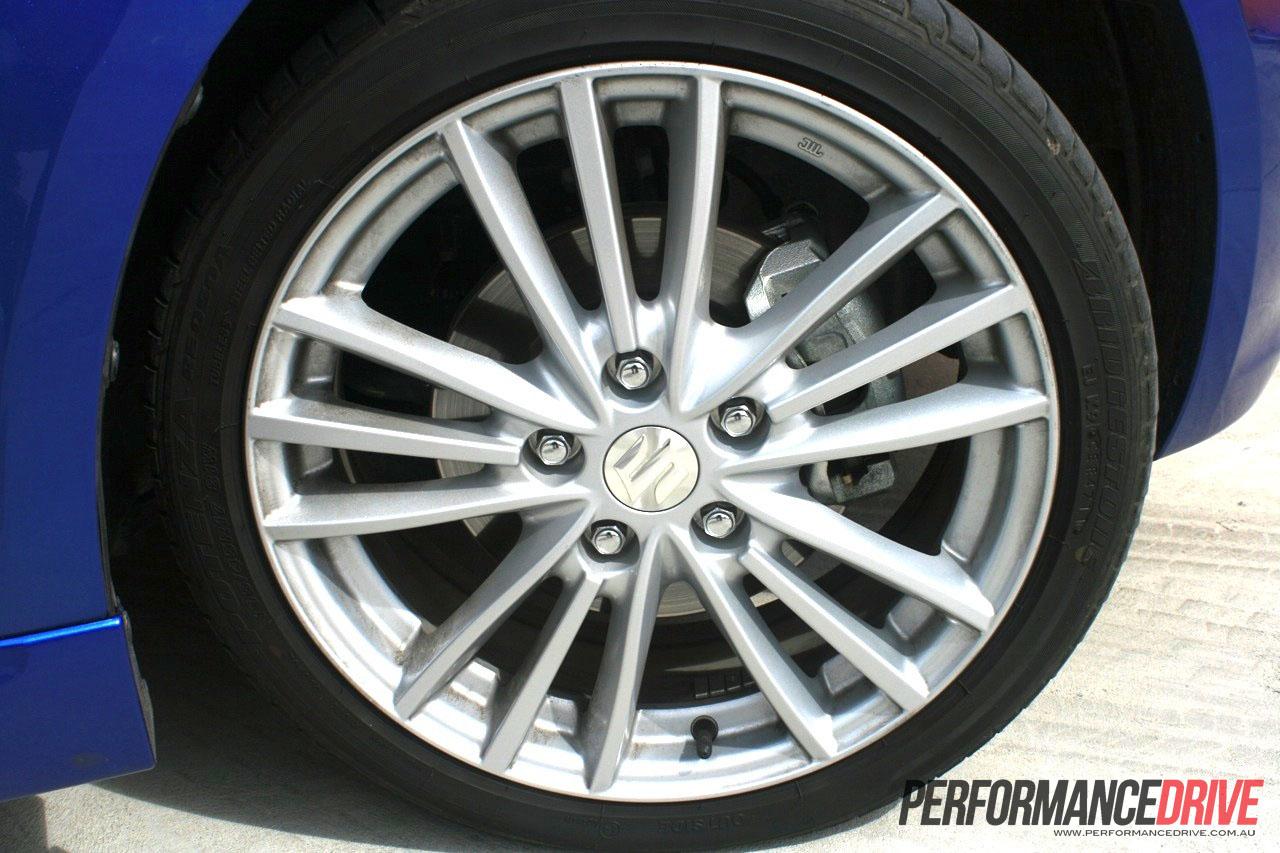 Worksheet. 2012 Suzuki Swift Sport alloy wheels