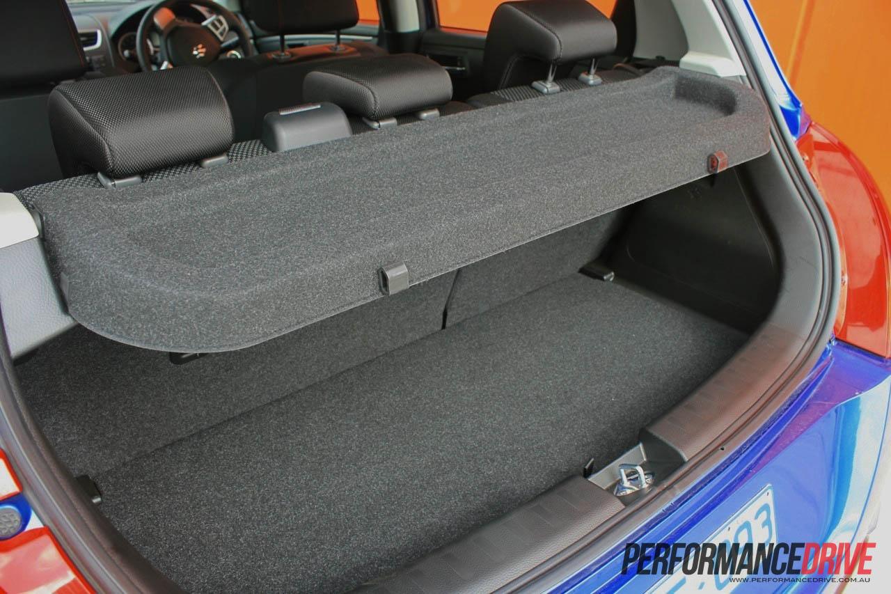 Suzuki Swift Sport Boot on Fuel Tank Knob