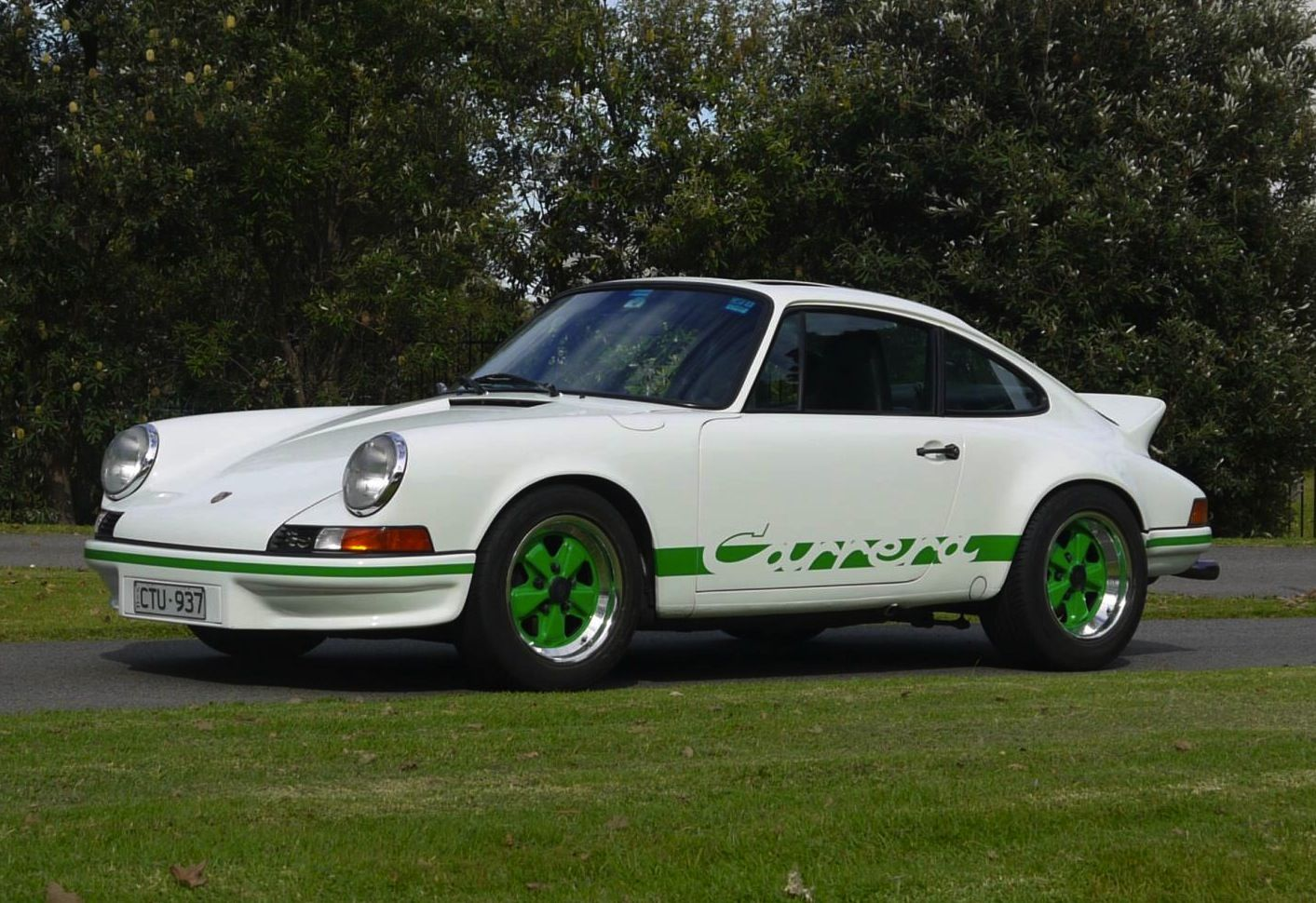 For sale 1973 porsche 911 carrera rs backdate and mint 912 starting vanachro Choice Image