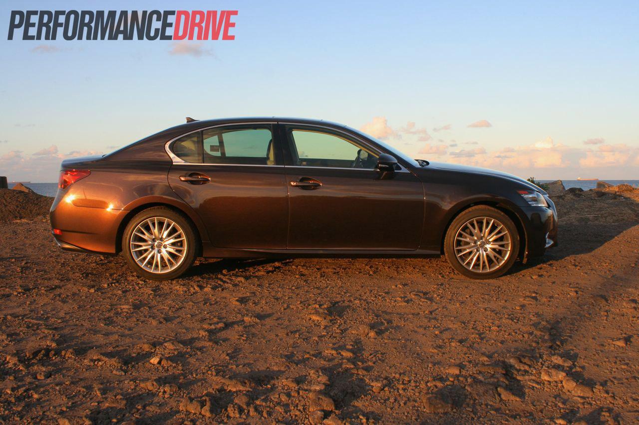 2012 lexus gs 350 sports luxury side  