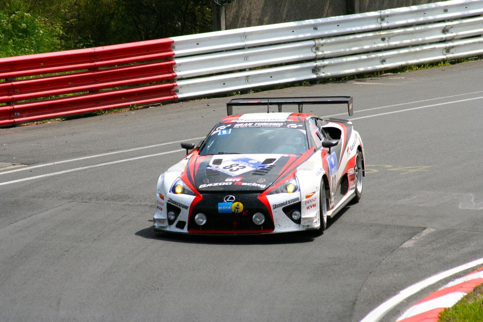 2012 Nurburgring 24 Hours Lexus Lfa