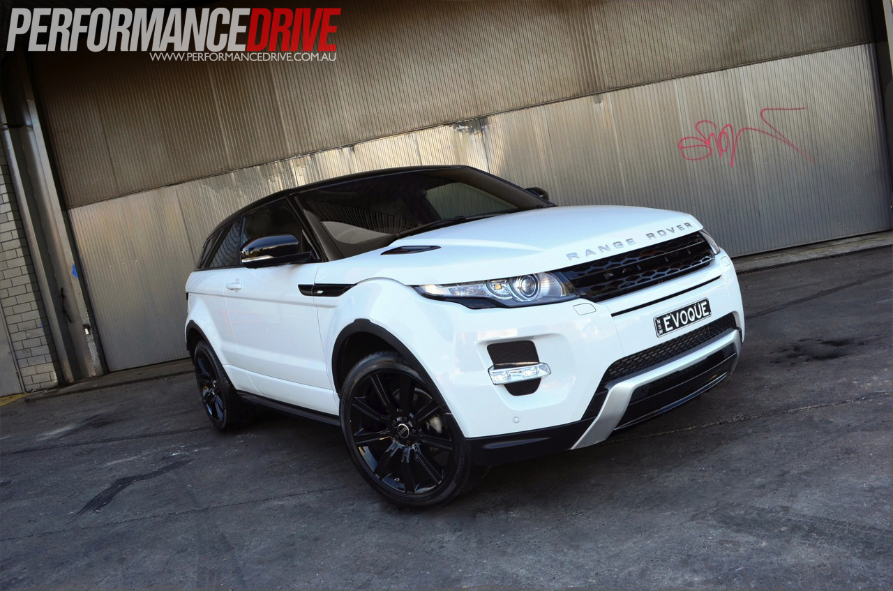 land rover evoque 2012. 2012 range rover evoque coupe dynamic si4 front side land