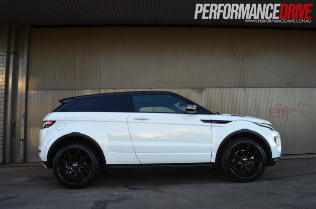 2012 Range Rover Evoque Dynamic Si4 Coupe Review