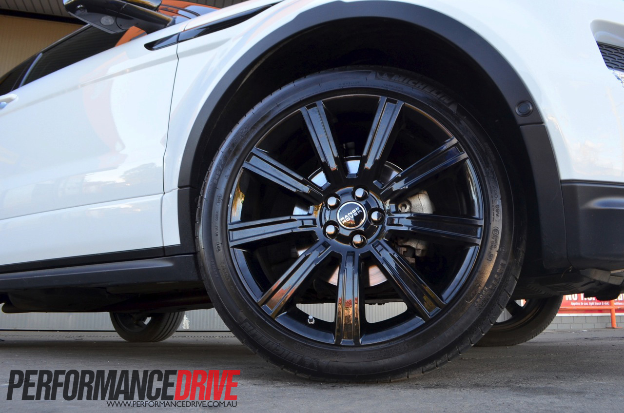 2012 Range Rover Evoque Coupe Dynamic Si4 Wheels