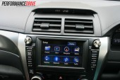 2012 Toyota Aurion Sportivo ZR6 touch screen