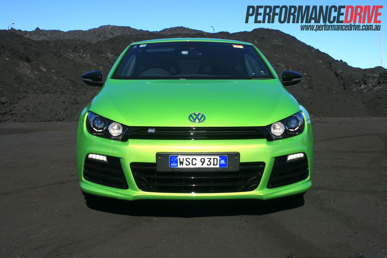 2012 volkswagen scirocco r front. Black Bedroom Furniture Sets. Home Design Ideas