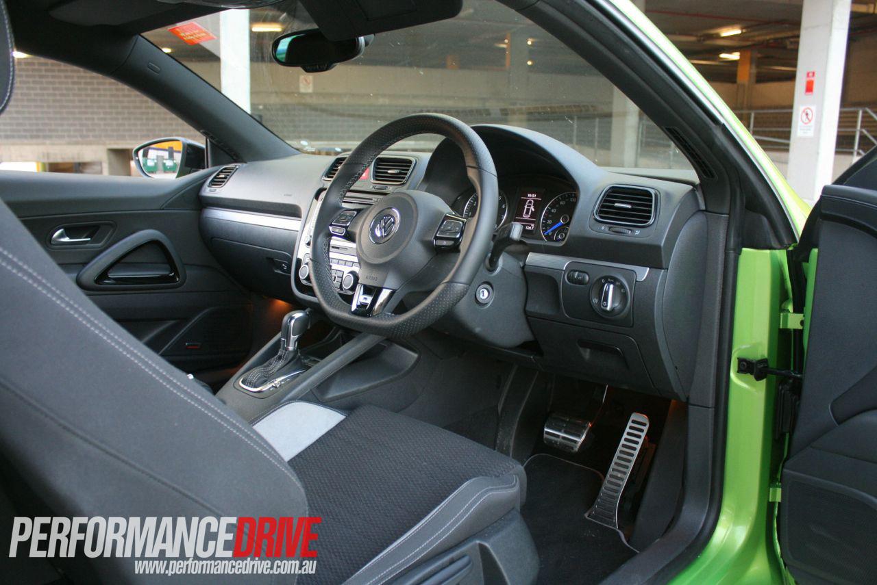 2012 Volkswagen Scirocco R interior