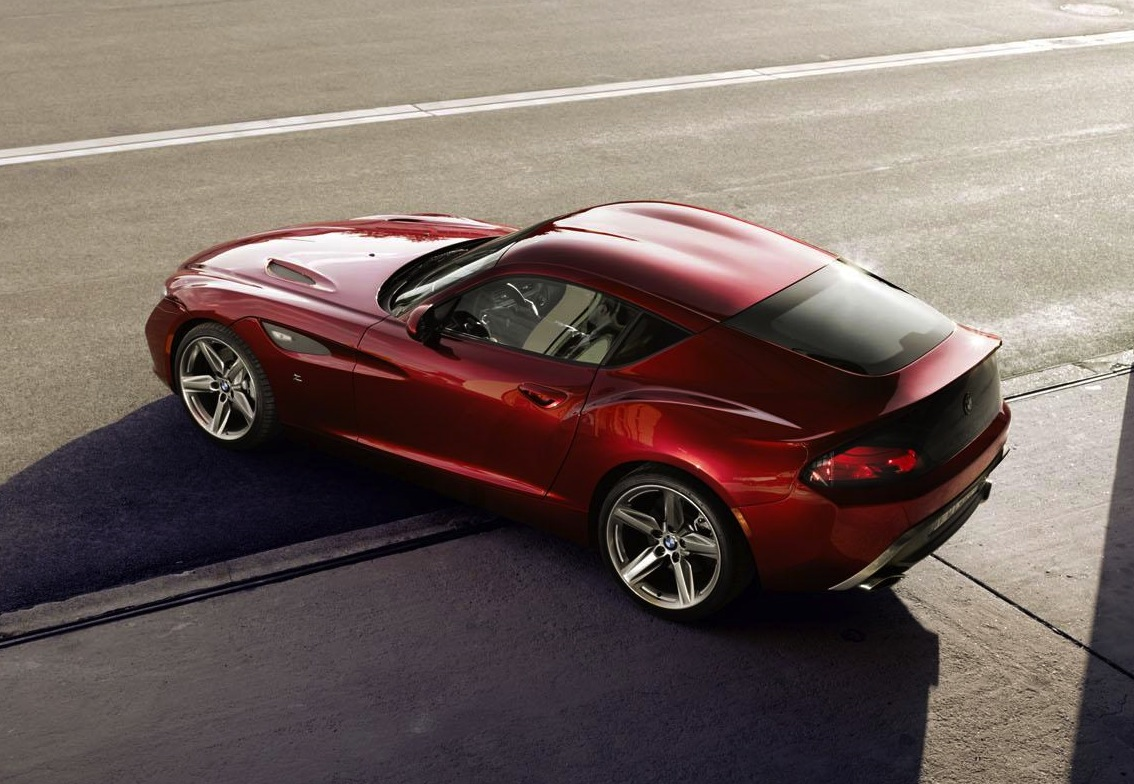 Bmw Zagato Coupe Z4 Is One Sexy Concept Performancedrive